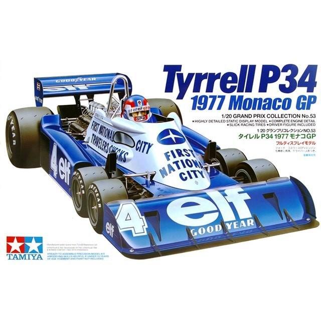 Tyrrell P34 Monaco GP1977