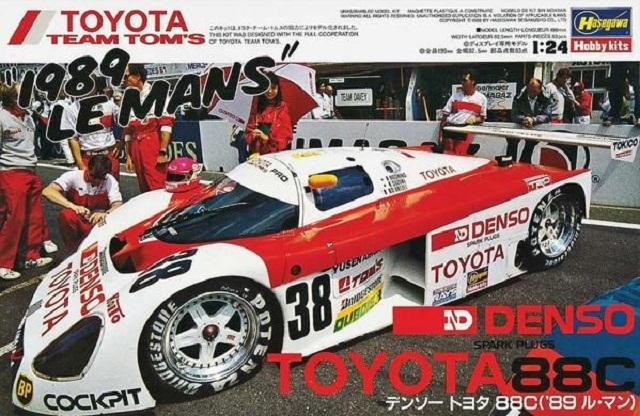 DENSO Toyota 88c '89 Le Mans