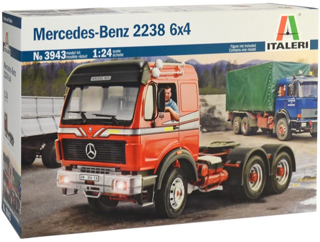 Mercedes-Benz 2238 6x4 - Super Decal Sheet Included