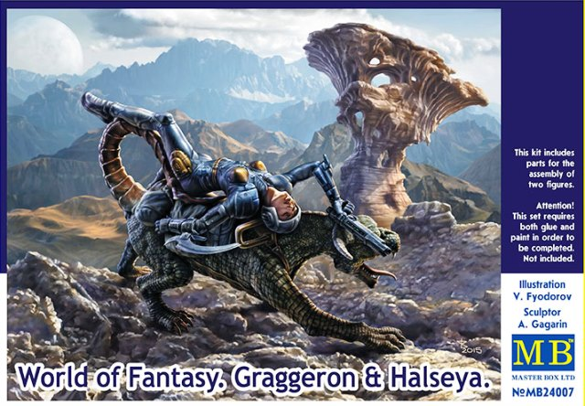 World Of Fantasy. Graggeron & Halseya