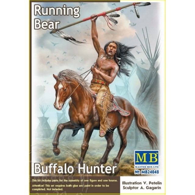 Buffalo Hunter. Running Bear