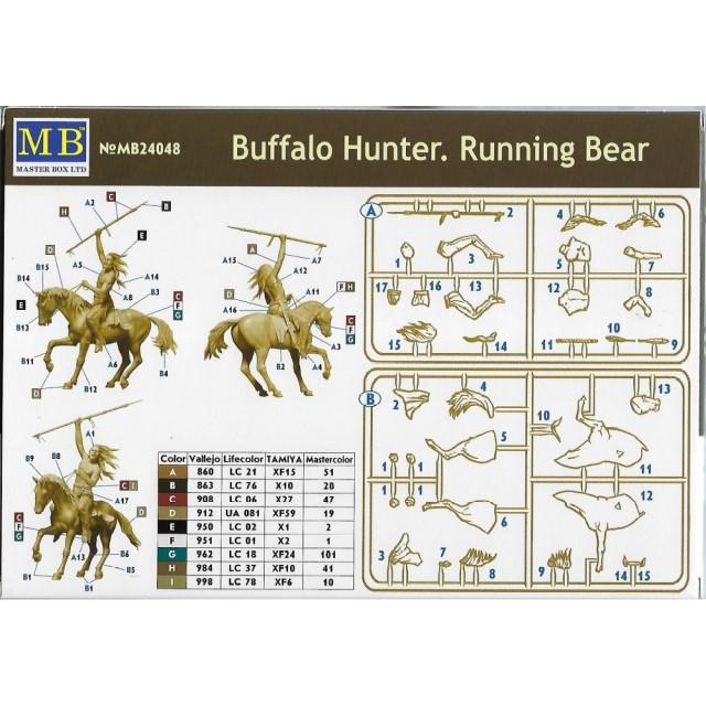 Buffalo Hunter. Running Bear