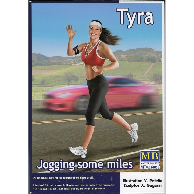 Tyra - Jogging some miles