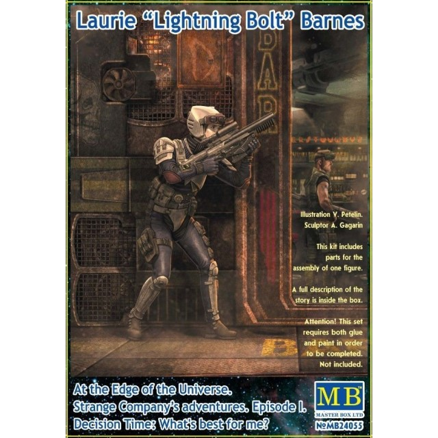 Laurie Lightning Bolt Barnes