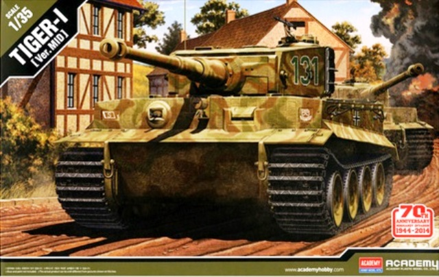 "German Tiger-I ""Mid Version"""