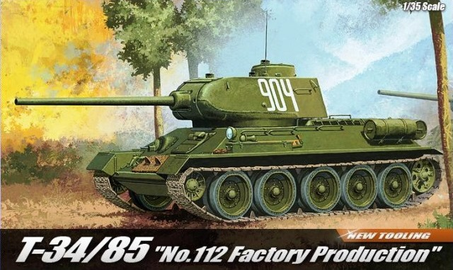 "T-34/85 ""No. 112 Factory Production"""
