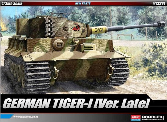 German Tiger 1 (Ver Late)