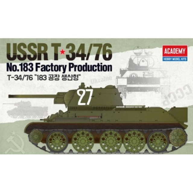 """T-34/76 Factory """"No. 183 Factory Production"""""""