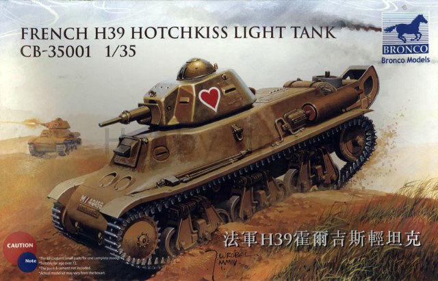 French H39 Hotchkiss Light Tank?