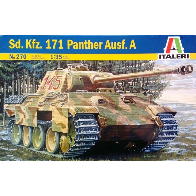 German Sd. Kfz. 171 Panther Ausf. A