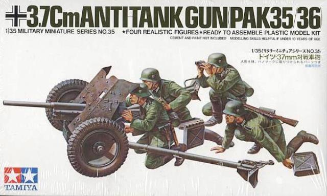 German 3.7cm Anti-Tank Gun Pak 35/36