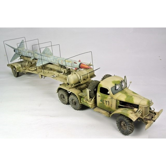 HQ-2 Guideline Missile on transport trailer