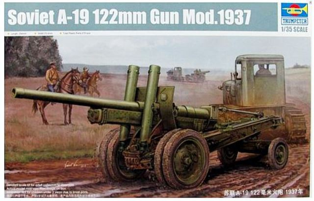 Soviet A-19 122mm Gun Mod. 1937