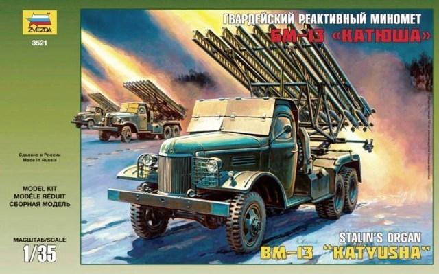 BM-13 Katiusha Stalin's Organ