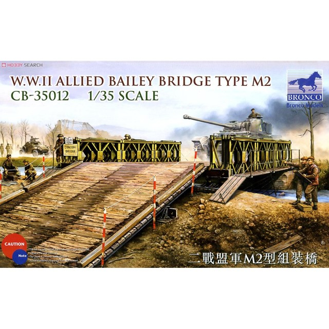 WWII Allied Bailey Bridge Type M2
