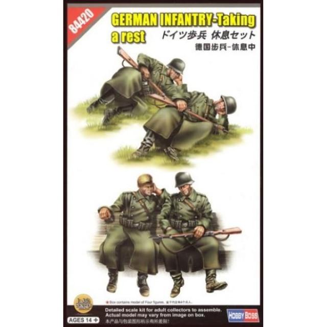 German Infantry Set Vol.2 - Taking a Rest (4 Figures)