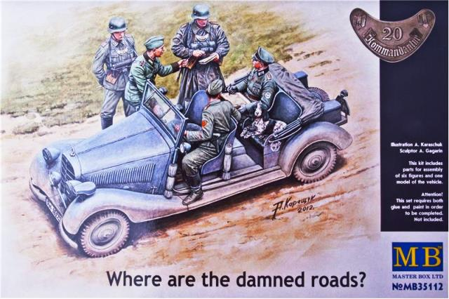 Where Are The Damned Roads