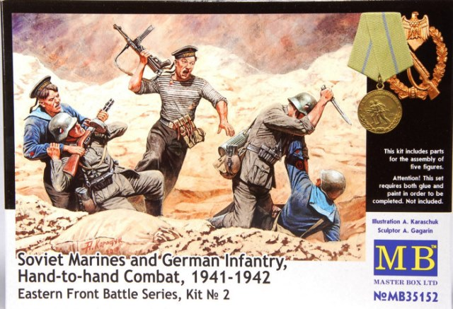 """Soviet Marines & German Infantry """"Hand To Hand Combat"""" 1941-42 - Eastern Front Battle Series Kit No. 2"""