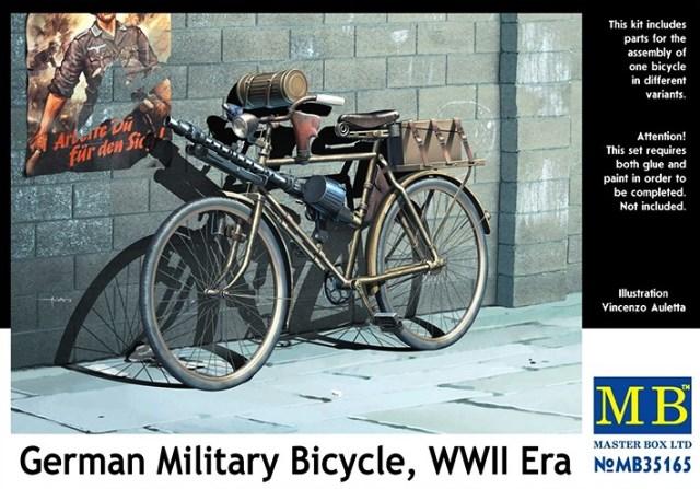 German Miltiary Bicylce WWII Era