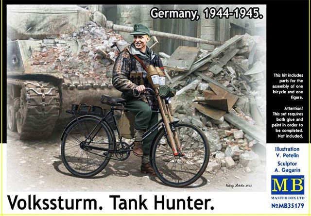 Volkssturm. Tank Hunter, Germany 1944-1945