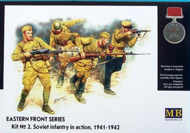 """Eastern Front Series """"Kit No.2 Soviet Infantry Action 1941-42"""""""