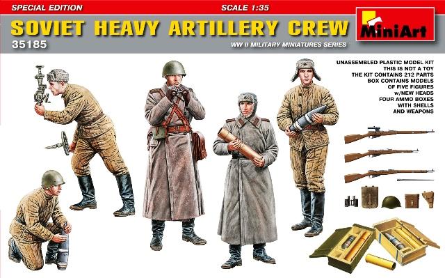 Soviet Heavy Artillery Crew