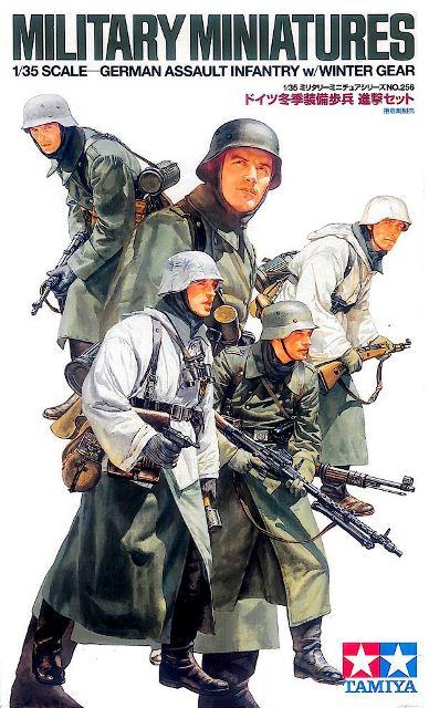 German Assault Infantry Winter