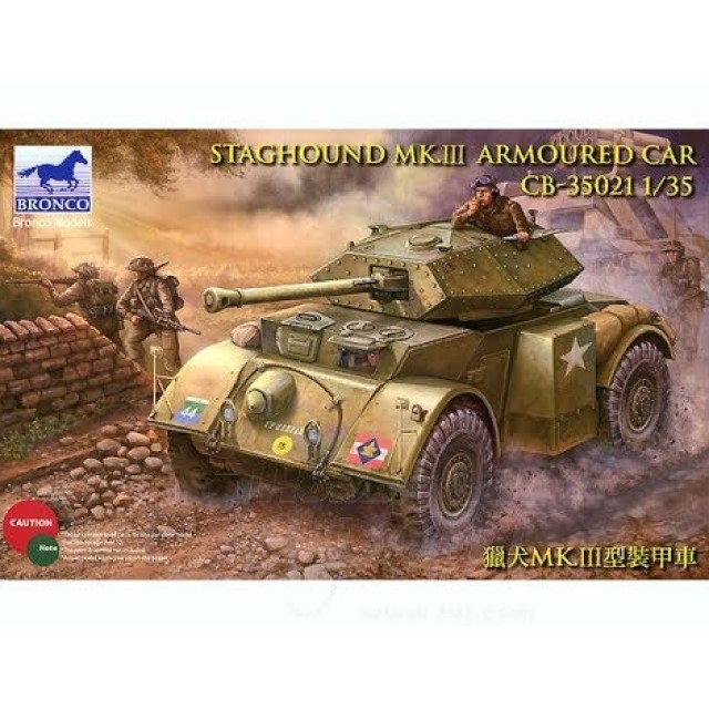 British/U.S. Staghound Mk. III Armored Car