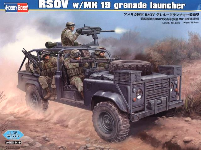 RSOV With MK 19 Grenade Launcher