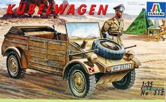 German Pkw. K1 Kubelwagen Type 82