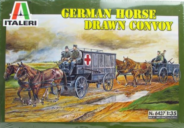 German Horse Drawn Convoy