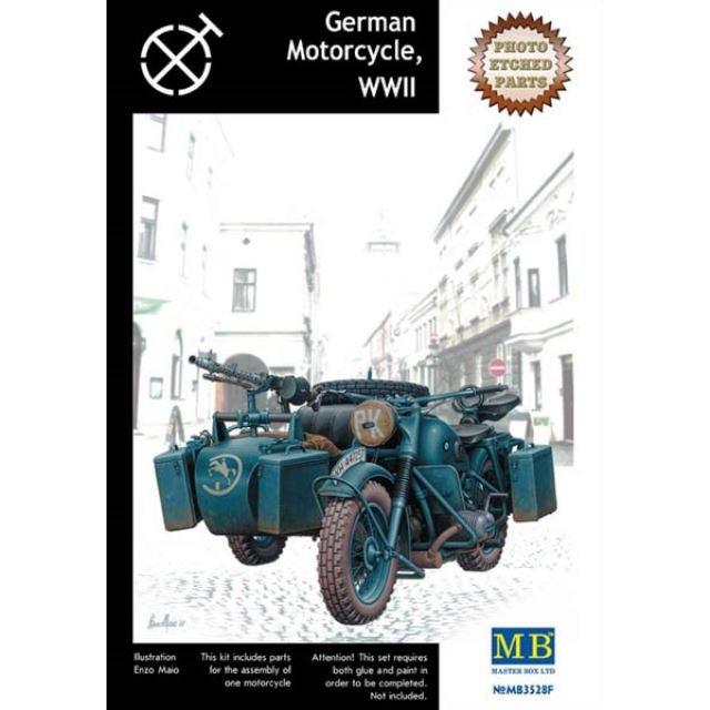 German Motorcycle WWII