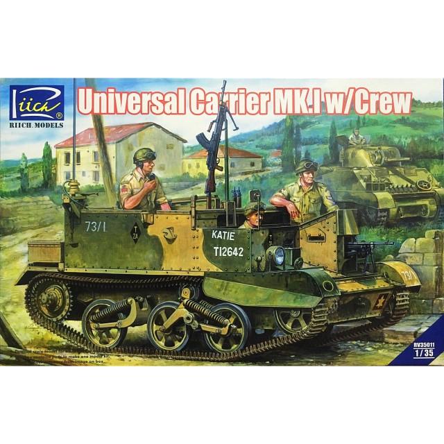 British WWII Universal Carrier Mk.I w/Crew
