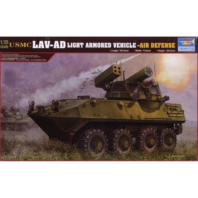 USMC LAV-AD Light Armored Vehicle-Air Defense
