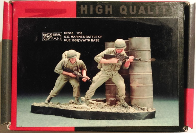 U.S. Marines Battle of Hue 1968 (3) - 2 Figures with Base