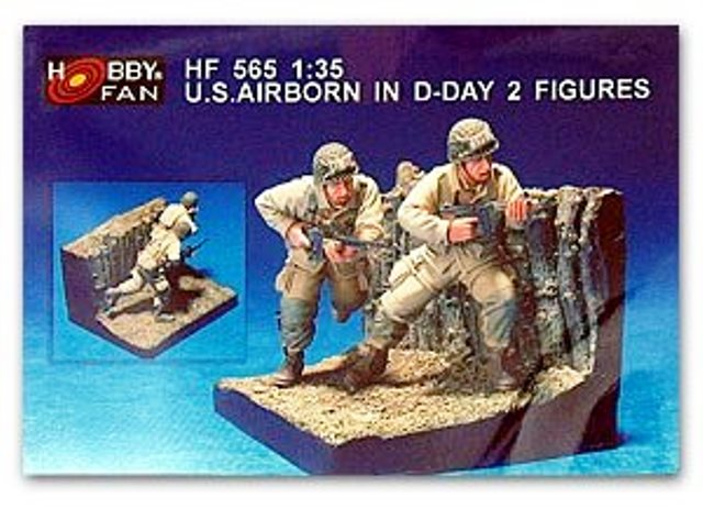 U.S. Airborne In D-Day - 2 Figures
