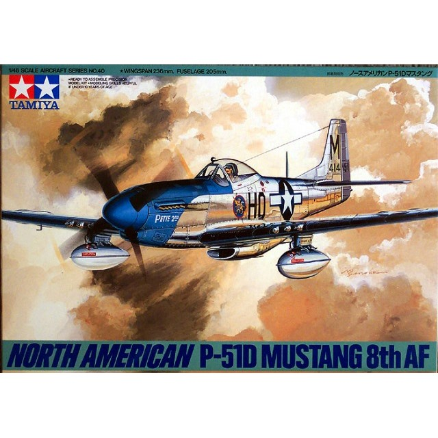 "North American P-51D Mustang ""8th AF"""