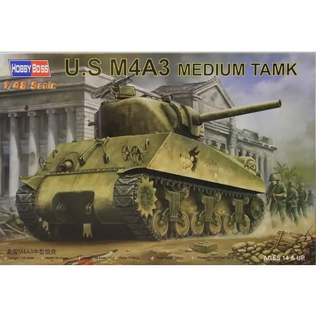 U.S. M4A3 Medium Tank
