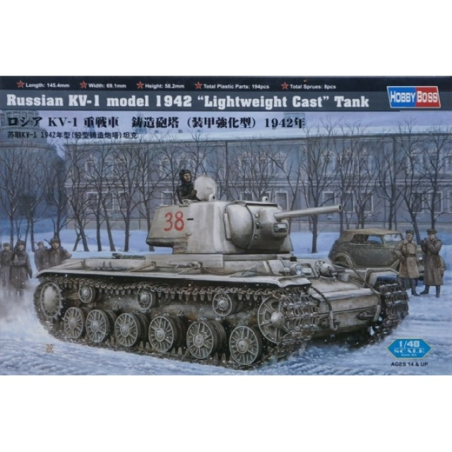 "Russian KV-1 Model 1942 "" Lightweight Cast Turret "" Tank"