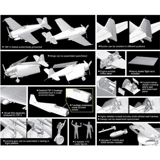 F6F-3 Hellcat w/Flight Deck