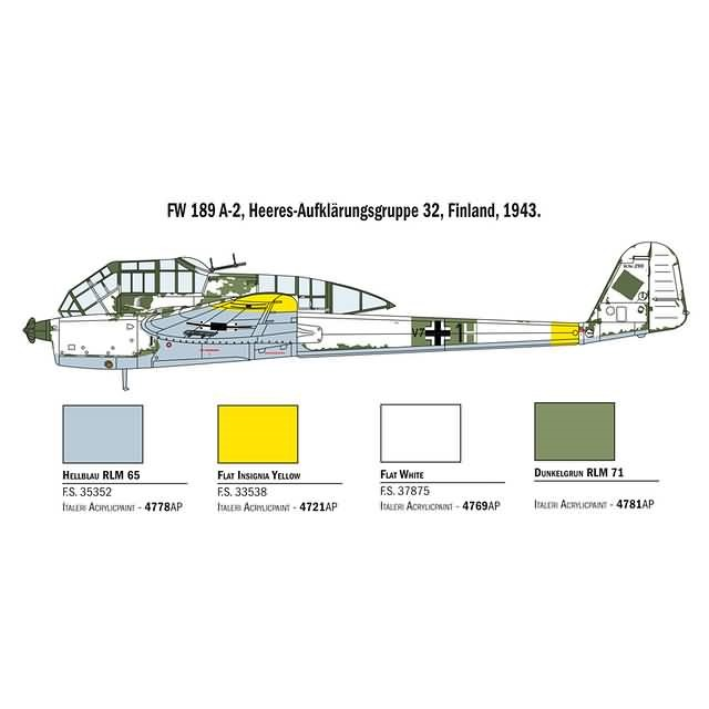 FW-189 A-1 - Super Decal Sheet Included