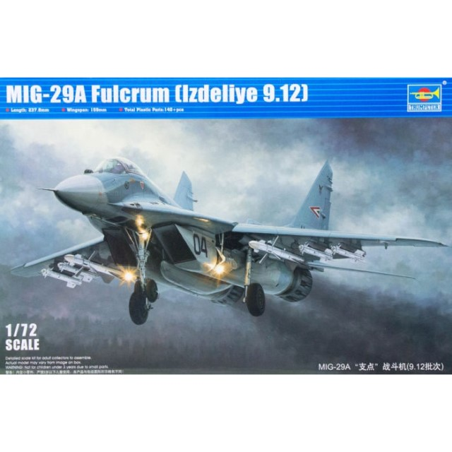 "Russian Mig-29A ""Fulcrum"" (lzdeliye 9.12) Fighter"