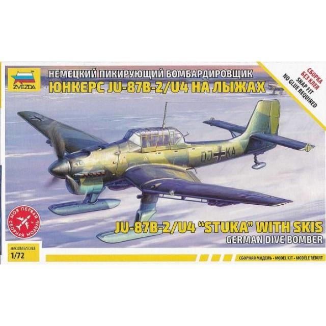 Ju87B-2/U4 Stuka With Ski's