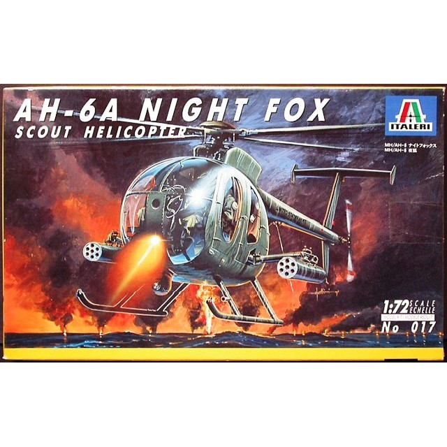 """Hughes AH-64A """"Night Fox"""" Scout Helicopter"""