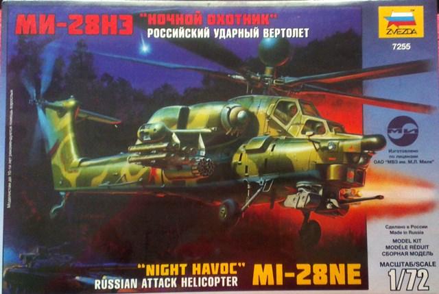 "Russian Attack Helicopter Mi-28NE  ""Night Havoc"""