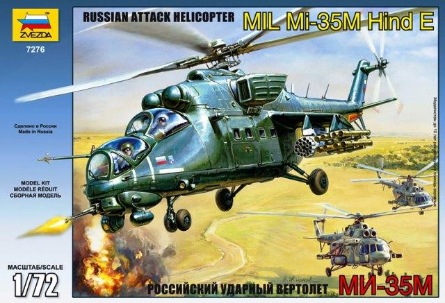 Russian Attack Helicopter MI-35M Hind E