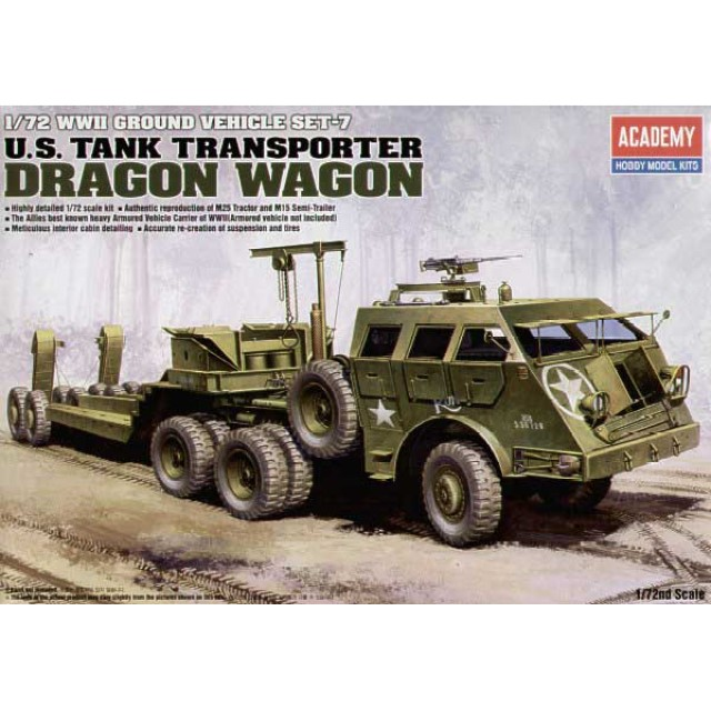 U.S. Tank Transporter M26 Dragon Wagon
