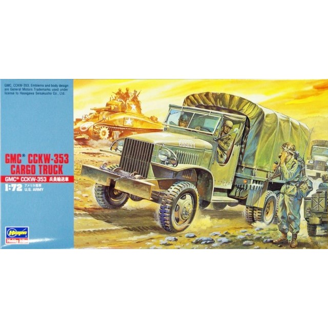GMC CCKW-353 Cargo Truck