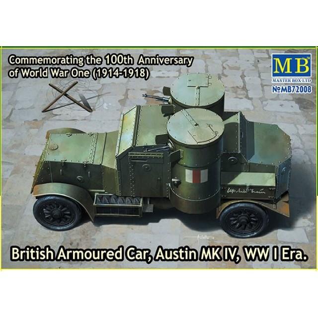 British Armoured Car - Austin Mk IV - WWI Era