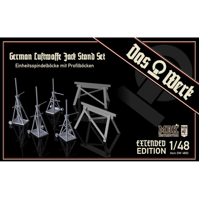Luftwaffe Jack Stand Set - Einheitsspindelböcke